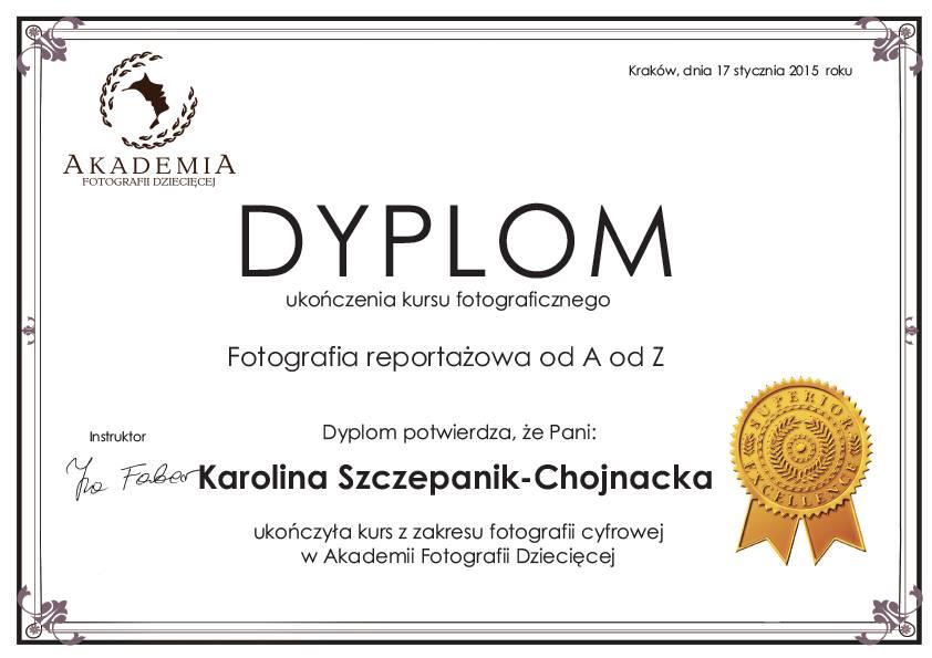 Dyplom - fotografia reportażowa